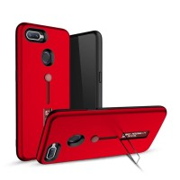ASUS Zenfone Max Plus M1 ZB570TL Silicone Ring Stand Soft Armor Case