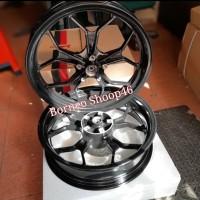 velg rossi vixion new double disc dpn 3in 4.5in tapak lebar