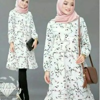 Baju gamis santai / gamis casual / busana moderen / pakaian muslim new