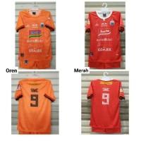 Jersey Kaos Setelan Futsal Baju Bola Kids Persija