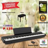 Digital Piano Yamaha P125 - XStand + Bench / P125B / P-125 /P-125B