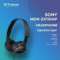 Sony Headphones MDR ZX110 AP - Black