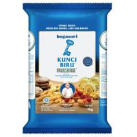 Bogasari Kunci Biru Tepung Terigu [1 Kg] Premium
