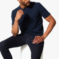 MARKS & SPENCER - Kaos Pria - Cotton Crew Neck T-Shirt