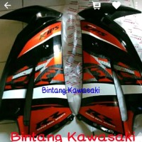 fairing atas orange Special edition 2014 ninja rr new origi