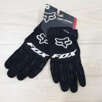 Original Fox Ori Premium Dirtpaw Glove Motor Full Black Sarung Tangan