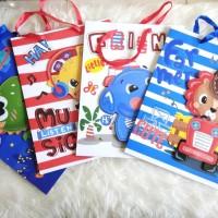PAPER BAG GOODIE BAG 3D ANIMAL CUTE