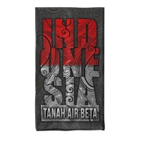 MASKER BUFF BANDANA MOTIF ETNIK INDONESIA SEAMLESS TANPA JAHITAN