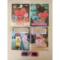 Buku Cerita Anak Milenial Karakter BTS/ BT21+ Kaca Mata 3D