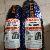 Ban Maxxis sepasang 80/90-14&90/9014 Tubless