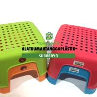 1pc Bangku Kecil Plastik Maspion/ Kursi Jongkok/ Kursi Pendek Segi