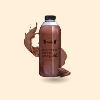 Dum Dum Dark Chocolate Bottled 1 Litre (Kurir instant/ sameday only)