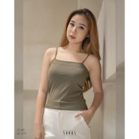 [Yoorafashion] Basic Tank Top Slim Polos Kamisol Sexy BL1197