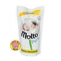 MOLTO ULTRA PURE 900 ML pewangi pelembut baju baby bayi
