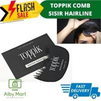 Toppik Hairline Optimizer Comb Sisir Toppik Sisir Hair Fiber Toppik