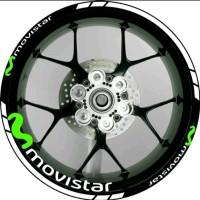 STICKER VELG MOVISTAR 01 FOR ALL MOTOR SPORT RING 17