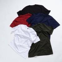 baju Tshirt polos kaos oblong pria dewasa