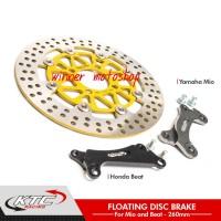 Disc Brake - Piringan Cakram Depan KTC Beat - Vario 125 & 150 Uk 260mm