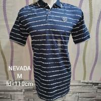 Polo shirt pria merk nevada original matahari muarh