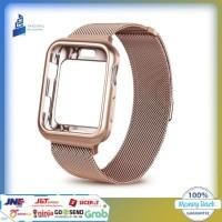 Apple Watch Case + Strap Stainless Steel Series 1 2 3 4 38 40 42 44mm