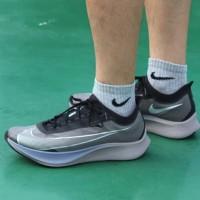Sepatu Nike Zoom Fly 3 Grey Black Premium Original
