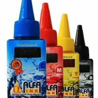 Tinta Printer ALFAINK For Canon 100 ML YELLOW