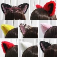 untuk Pesta Cosplay Bando Cosplay Bentuk Telinga Kucing dan Rubah