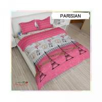 Bed Cover Lady Rose Rumbai Parisian - Ukuran 160x200 & 180x200