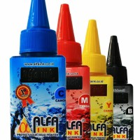 Tinta Printer ALFAINK For Canon 100 ML CYAN
