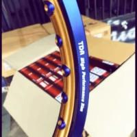 Velg ring 17 uk 140/140 blue/gold TDR dan warna lain lain