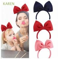 Bando Pita Besar Warna Hitam/Merah/Biru Navy/Pink untuk Anak