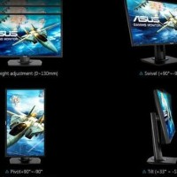 Asus VG245H Gaming Monitor Full HD -1ms -Free Sync Support