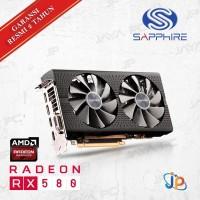 VGA Sapphire Pulse Radeon RX 580 Dual 8GB - RX 580 Dual 8 GB DDR5