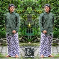 lurik/baju tenun/sorjan/seragam batik/jumbo size/adat jawa/atasan pria