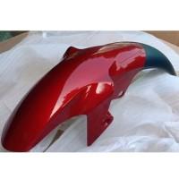 Spakbor Depan Front Fender Yamaha Vixion New Merah Maroon