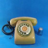 telp telepon putar telpun jadul vintage antik lawas kuno rare langka k