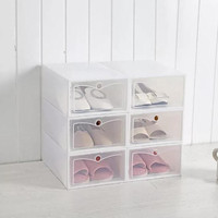 Kotak Sepatu Flip Shoe Box Shoe Boks Tempat Sepatu lipat Kotak Sepatu