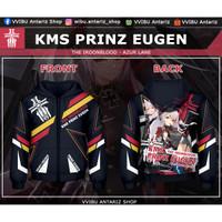 Jaket Hoodie Fullprint Anime Azur Lane KMS Prinz Eugen