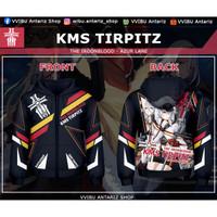 Jaket Hoodie Fullprint Anime Azur Lane KMS Tirpitz