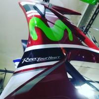 Hlef fairing Yamaha Vixion old nvl nva merah AFAU AKSESORIS MOTOR