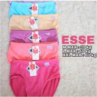 CD Celana Dalam Wanita Murah ESSE Polos (RANDOM) bhn adem dan melar