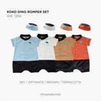 Hey Baby Koko Romper Dino