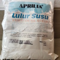 Aprilia Bubuk Lulur Susu Scrub ( 500 Gram)
