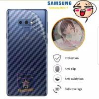 Samsung Note 9 Note9 Anti Gores Belakang Skin Carbon Karbon Garskin