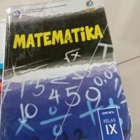Buku MATEMATIKA UNTUK SMP/MTs IX REVISI BSE