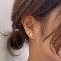 Dear Me - Alamanda Earring (925 Sterling Silver with 14K Gold Plated)