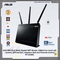 ASUS Wireless AC1900 Dual Band Gigabit WiFi Router RT-AC68U