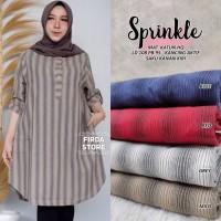 baju atasan sprinkle tunik muslim wanita simple santai top trendy