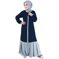 RNGXFA setelan baju kerja formal syar'i wanita perempuan muslimah