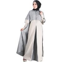 RWHXBH setelan baju kerja formal syar'i wanita perempuan muslimah